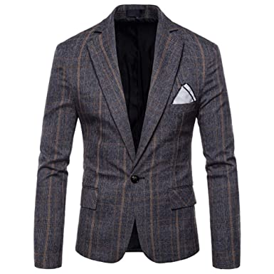3e2dd8e0bc16 TT Global Homme Veste en Cotton Slim Fit Manteau Sport décontracté Premium  Blazer