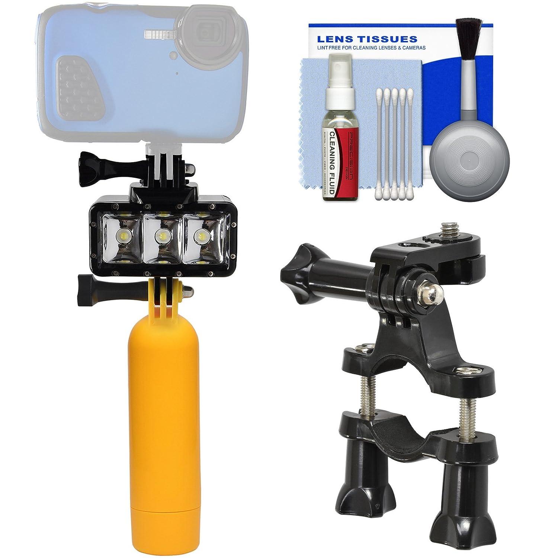 Precisionデザインwpl40防水水中ダイビングLEDビデオライトwith Floatingブイハンドルキット防水のポイント&シュート、GoPro &アクションカメラ   B073PDM36X