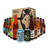 Beerwulf Männerabend-Pack | Bierbox | Bierpaket | Biergeschenk | mit 12 verschiedenen Bieren