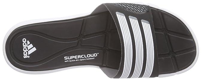 size 40 a67d1 c6901 adidas Adipure 360 Slide W Blk - Claquettes Natation Femme, noir et blanc,  taille 37 EU Amazon.fr Chaussures et Sacs