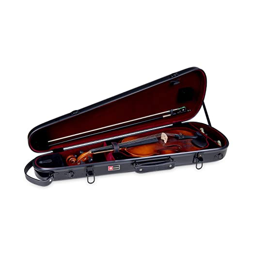 Amazon.com: Crossrock Violin Case, Zippered ABS Molded ...
