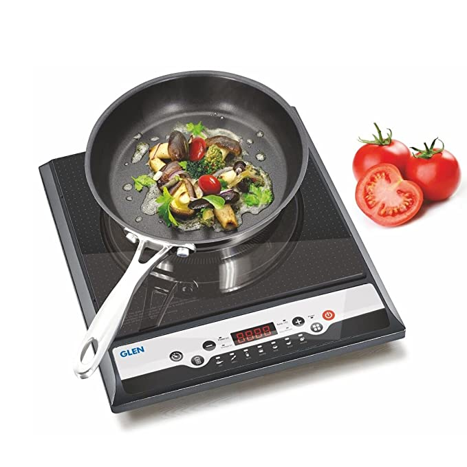 Glen Gl 3070 1400 W Ex Induction Cooker, Black at amazon