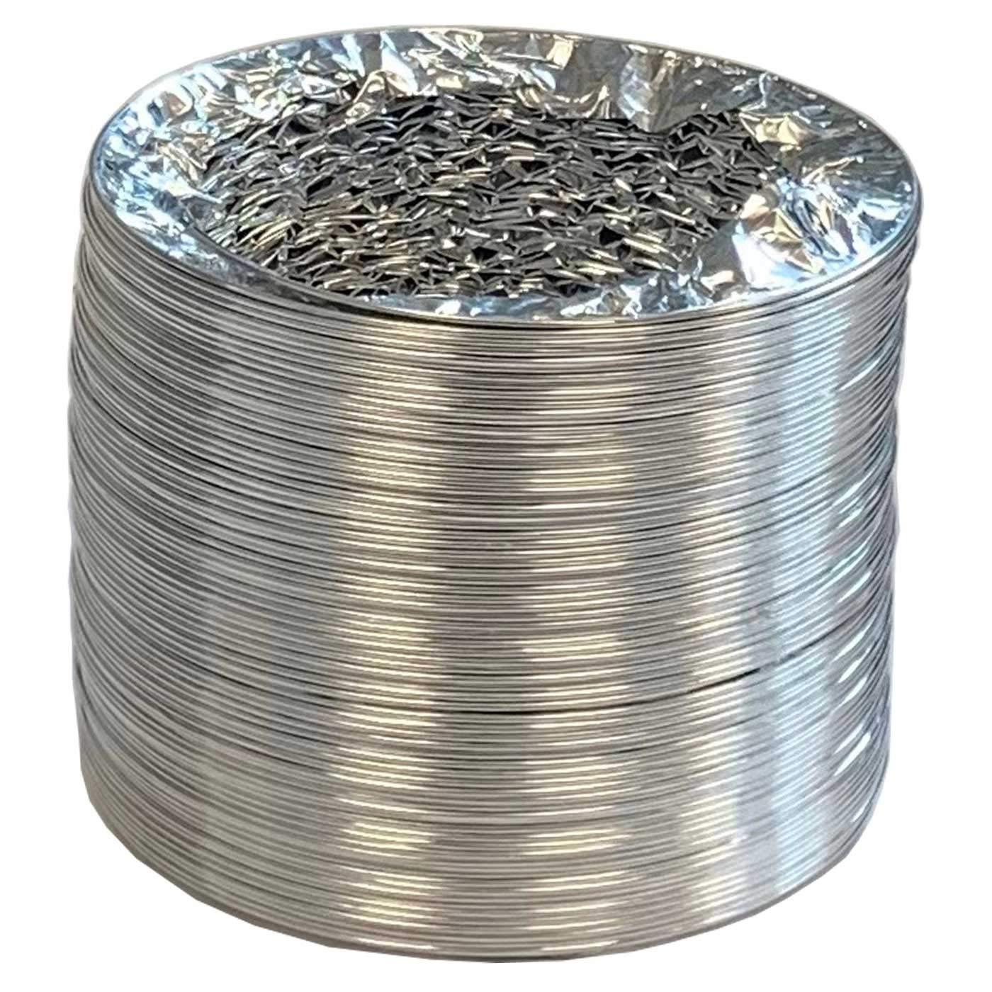 Acan Tubo de Aluminio de 12 cm di/ámetro