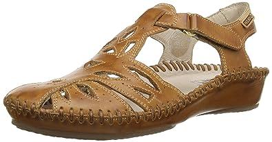 Womens P. Vallarta 8899 Cone Heel Sandals Pikolinos 2Kj1eQU