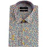カラードット6896 ドレス&カジュアルシャツ MAKROMマクロム