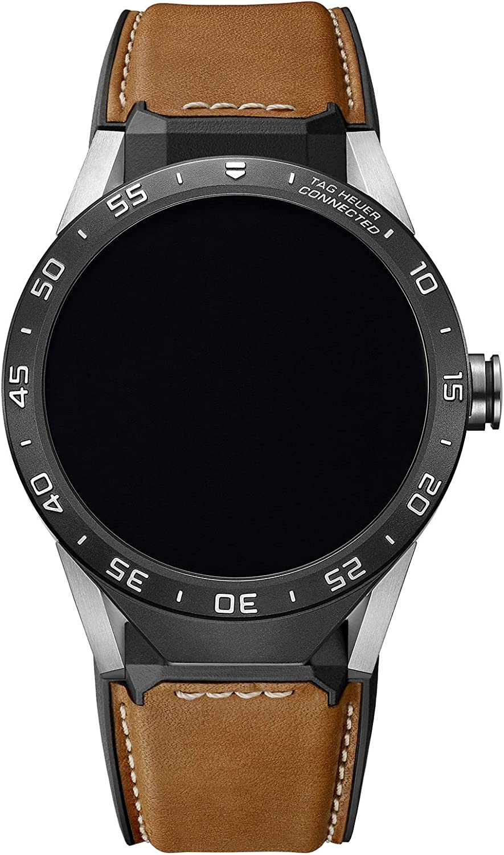 TAG Heuer Connected SAR8 A80. FT6070 - Reloj inteligente de cuero ...