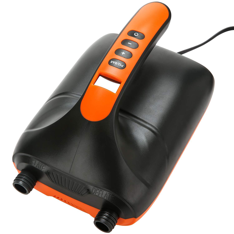 12 V//20 PSI Nalanda Bomba de Aire El/éctrica con Conexi/ón para Auto Sup de Llenado R/ápido Bomba de Aire Inflable//Desinflada para Carpa Inflable Flotador para Deportes Acu/áticos Kayaks