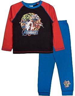 Marvel - Pijama Dos Piezas - Manga Larga - para niño