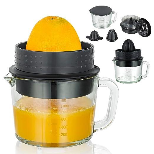 039) Exprimidor Licuadora eléctrica con 1 litros jarra de cristal ...