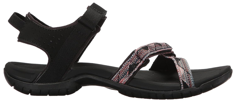 Teva Women's Verra Sandal B072MQMM5H 10 B(M) US|Surf Black/Multi