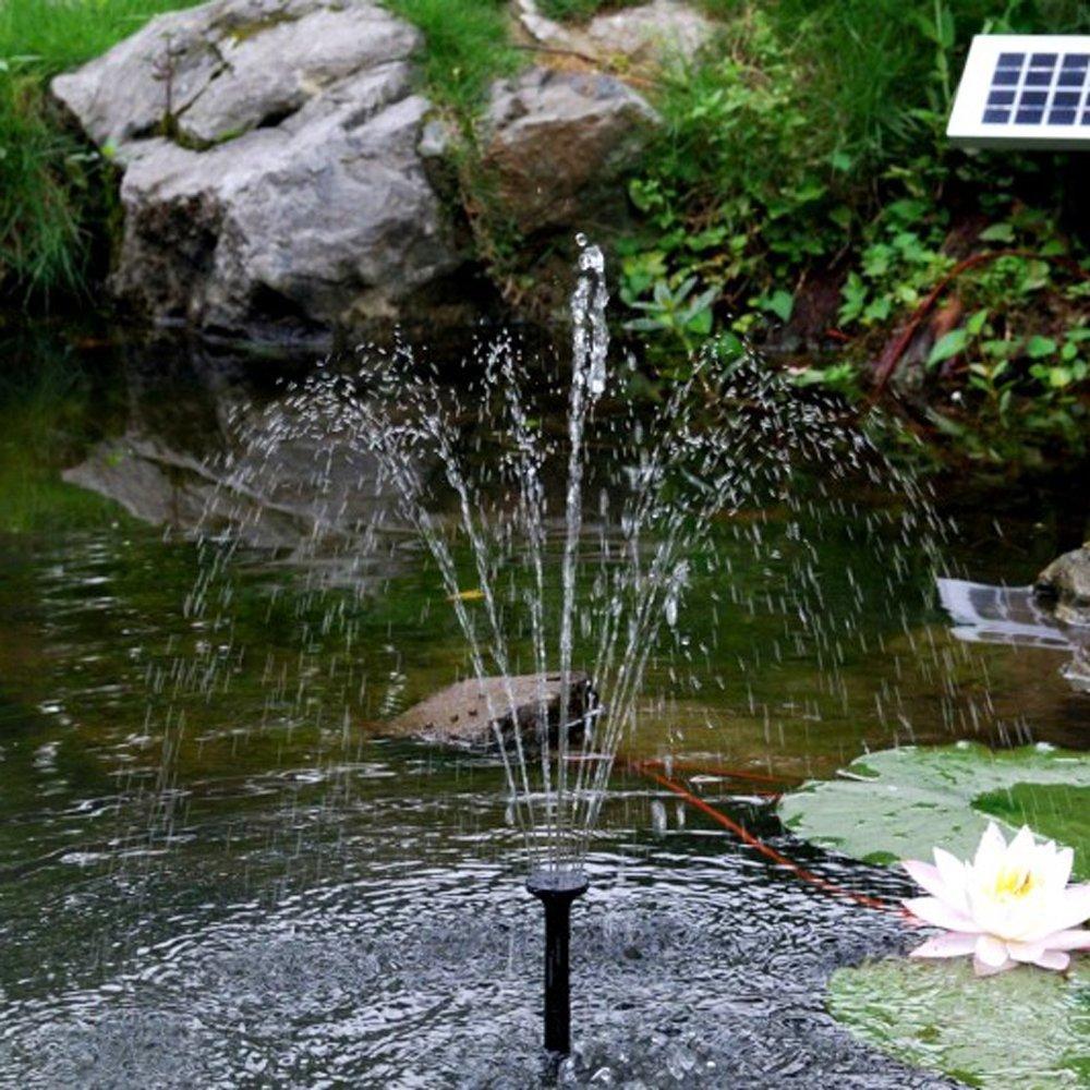 Solar Powered Pond Pump Sunjet  Garden Feature Amazoncouk - Amazon pond pumps