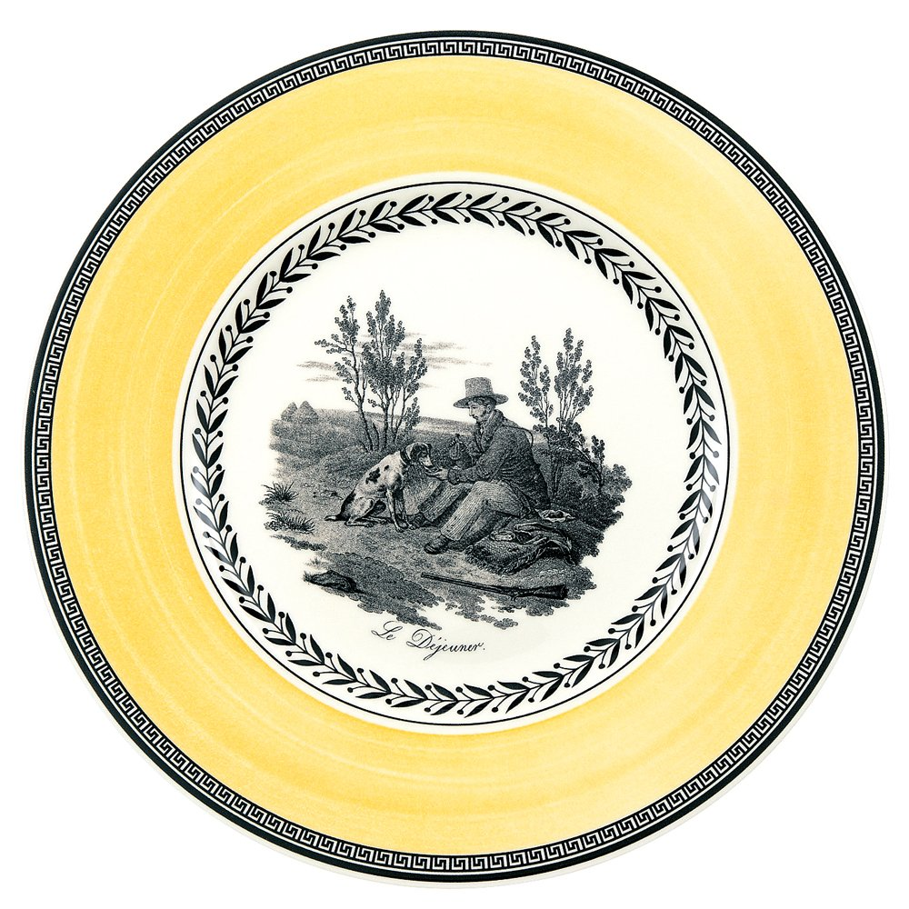 Audun Chasse Salad Plate Set of 6 by Villeroy & Boch - 8.5 Inches