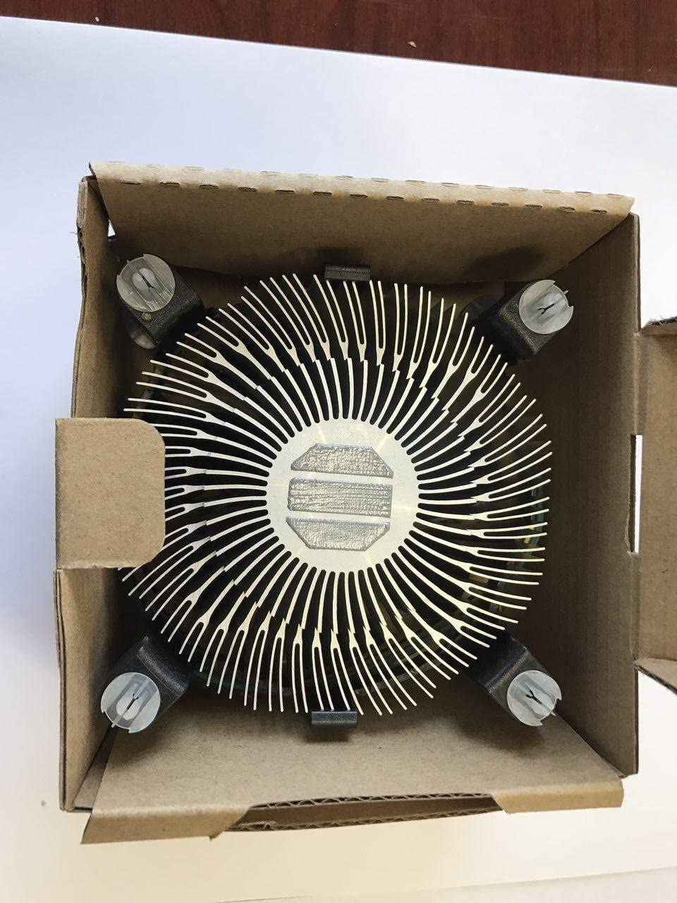 Intel E97379-003 Core i3//i5//i7 Socket 1150//1155//1156 4-Pin Connector CPU Cooler with Aluminum Heatsink and 3.5-Inch Fan for Desktop PC Computer