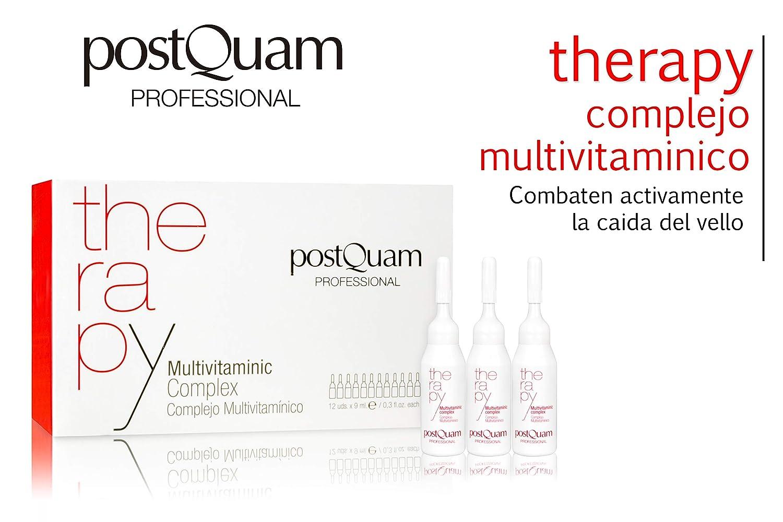 Amazon.com: Ampollas de Tratamiento - Complejo Multivitamínico 12x9 ml - PostQuam: Beauty