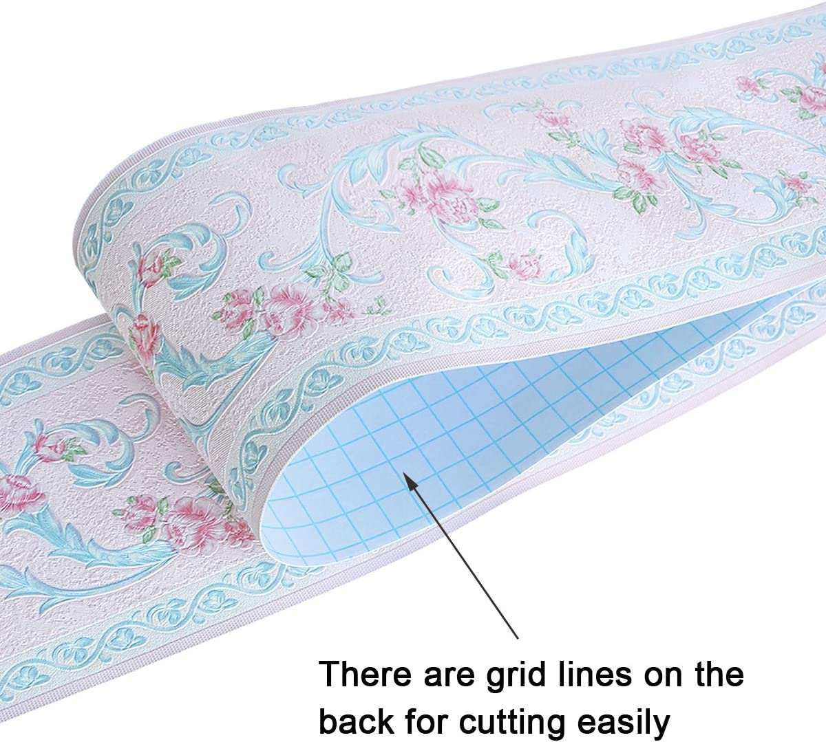 Uoisaiko PVC Gelb Tapete Bord/üre K/üche Wandbord/üre Selbstklebend Tapetenbord/üre 10CM x 10M Wandbord/üre Sch/älen und Stock Bord/üren f/ür Wohnzimmer Schlafzimmer