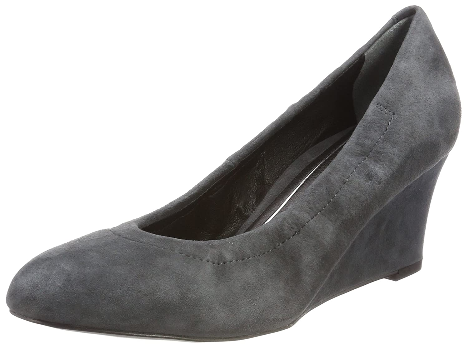 efe19594d815 Vionic Women s Camden Wedge Dark Grey 7 W B01N6J9DMT Parent Parent Parent  1866c8