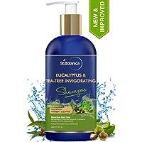 StBotanica Eucalyptus & Tea Tree Oil Hair Repair Shampoo - 300ml - No SLS/Sulphate, No Parabens, No Silicon