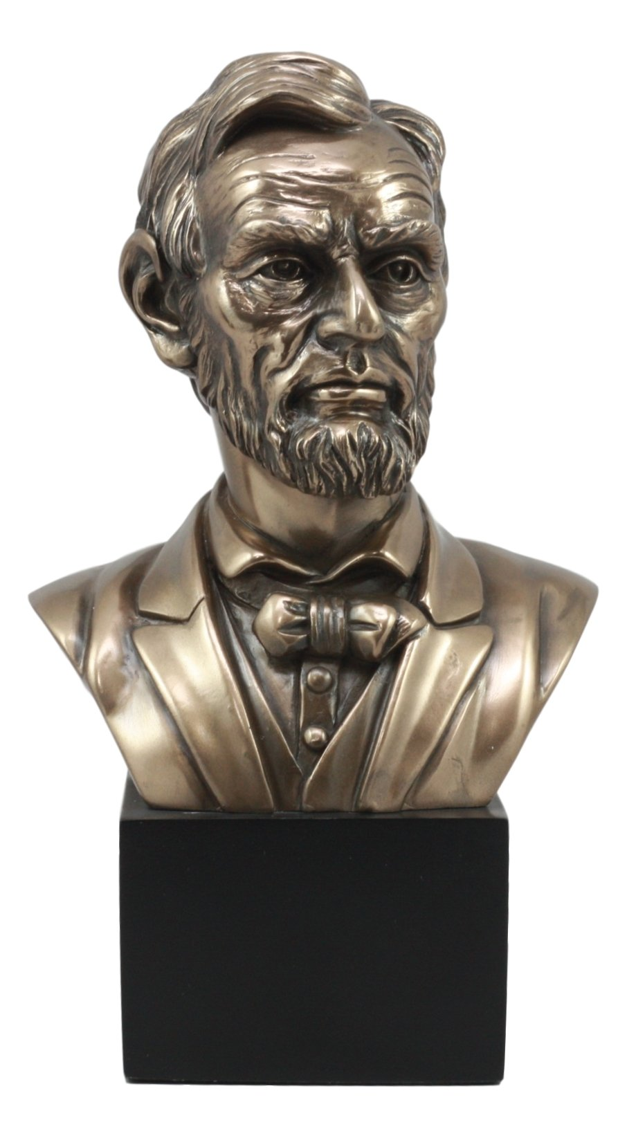 Ebros United States Of America 16th President Abraham Lincoln Bust Statue 9.25'' Tall Civil War Transcendent Leader Historical Sculpture