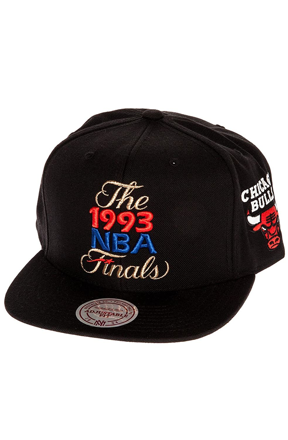 pretty nice cf685 09274 Top15  Mitchell   Ness Men  s Chicago Bulls 1993 NBA Finals Commemorative Snapback  Hat