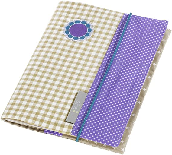 H/ülle f/ür Kinder-Untersuchungsheft aha Girl/´s Purple