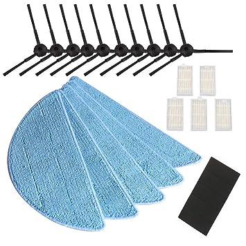 xinzhi Smart Filtros Accesorios Partes para Aspiradoras Piezas Barredora Consumir 25 Unids/Set Reemplazo Accesorio