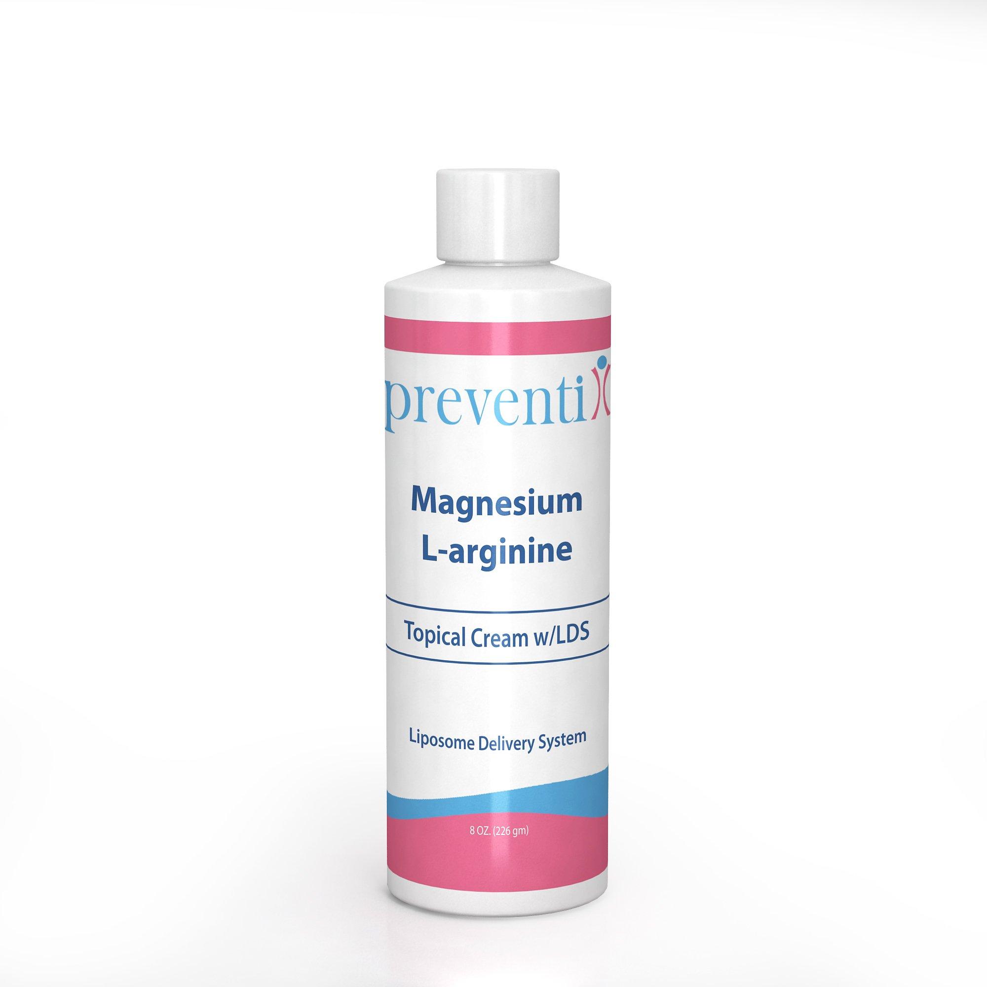 Magnesium L-Arginine Cream by Preventix