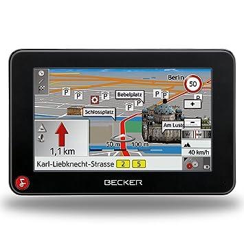 Becker Traffic Assist Z213 Navigation System incl  TMC (4 3