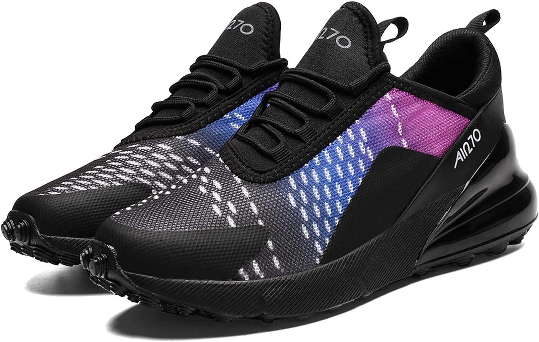 SINOES 270 Zapatillas de Deporte Hombres Zapatos de Gimnasia para Caminar de Peso Ligero Zapatillas de Deporte Zapatos Deportivos para Hombre