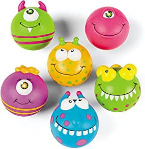 Monster Stress Balls - Prizes 12 per Pack - from Fun365
