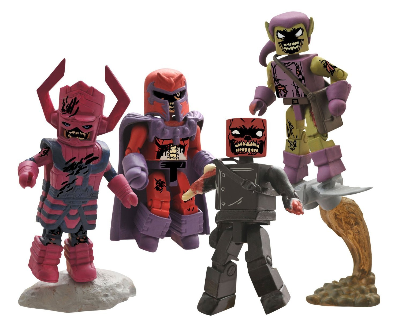Diamond Select Toys Marvel Minimates Zombies Villains Box Set Action Figure