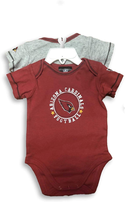NFL 2パック 幼児 ベビークリーパー ボディスーツ  3/6 months