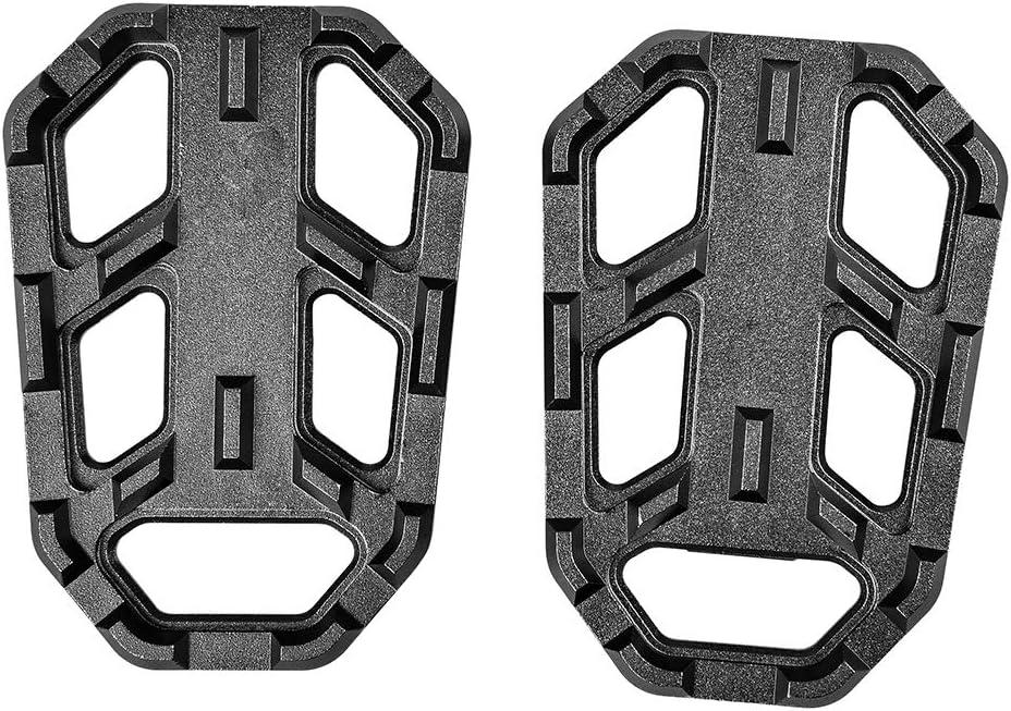 Titane LoraBaber G310GS R1200GS G310R Accessoires CNC Pieds larges pour repose-pieds P/édales pour BMW G 310 GS G 310R R 1200GS S1000XR 2013-2018 2014 2015 2016 2017