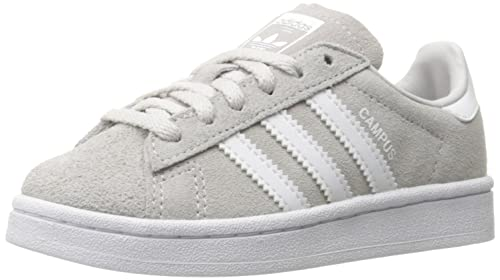 buy popular a058c 5ff62 Adidas Originals Boys  Campus C Sneaker, Grey One White White, 1