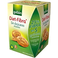 Gullón Diet-Fibra Galletas sin Azúcares - 450 g