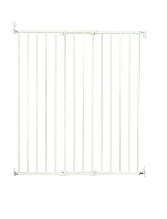BabyDan Extra Tall Extending Safety Gate (White)