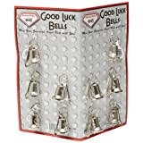 Silver Tone 10pc Good Luck Ride Gremlin Bells