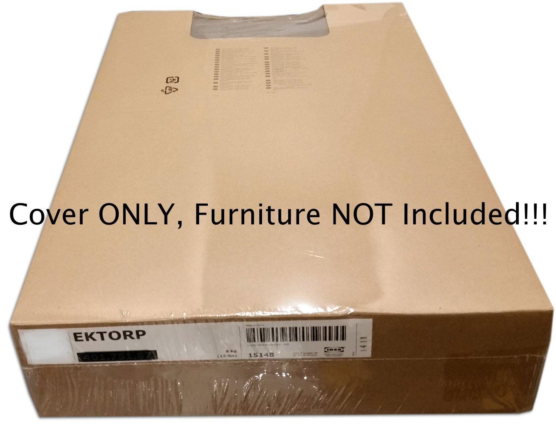 IKEA 定番から日本未入荷 EKTORPラブシート2 SeatソファーSlipcoverベルベットVellingeベージュ702.268.35 70226835 B01HZXRU0W 最安値挑戦 カバーのみ