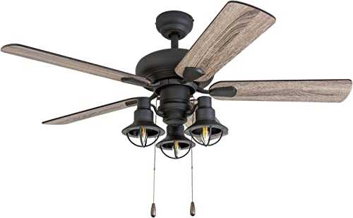 Prominence Home 50652-01 Piercy Coastal Ceiling Fan