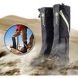 AYAMAYA Hiking Snow Leg Gaiters Boots Cover Waterproof
