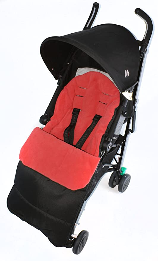 Saco/Cosy Toes Compatible con Be Cool por Jane para carrito, color rojo
