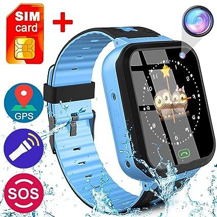 Amazon.com: Niños Smartwatch con GPS Tracker, juego ...