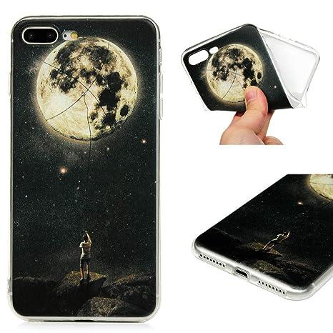 Funda para iPhone 7 Plus/iPhone 8 Plus, GODTOOK Slim Soft ...