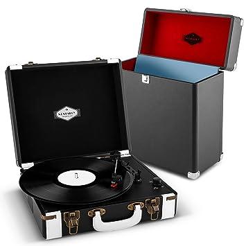 auna Jerry Lee Record Collector Set Tocadiscos portátil ...