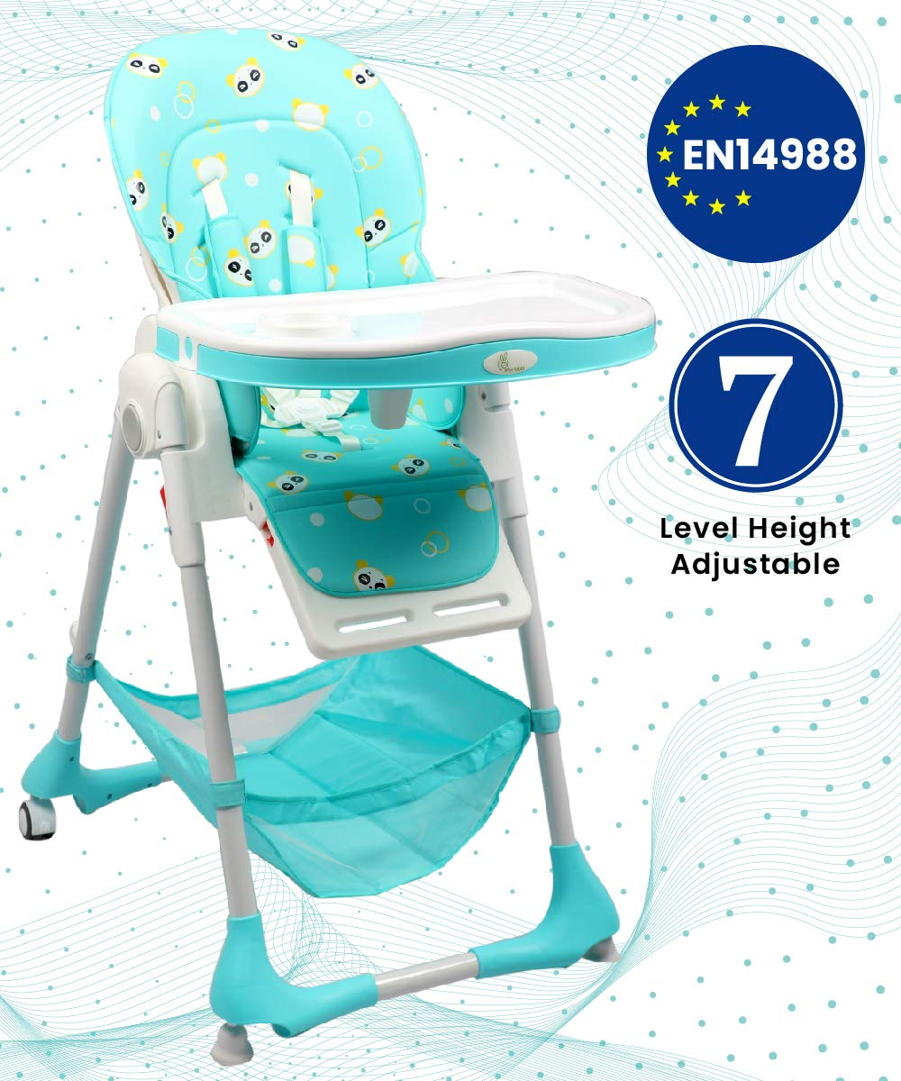 R for Rabbit Marshmallow Feeding High Chair for Babies - Smart Baby Feeding High Chair (Green)