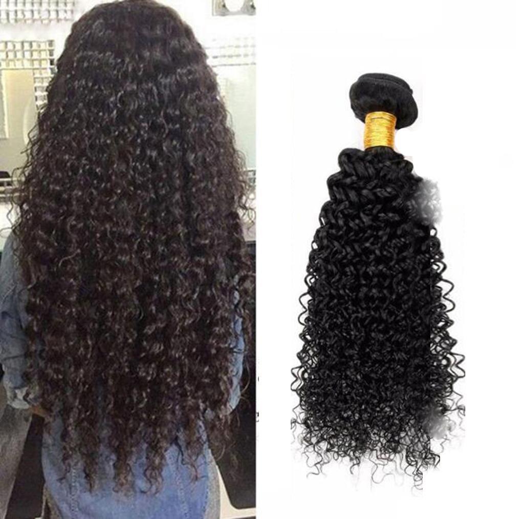 AN-LKYIQI Virgin peluca brasileña Virgen Brasil verdadero cabello rizado Europa y los Estados Unidos en vivo cortinas de pelo humano pelo , 20