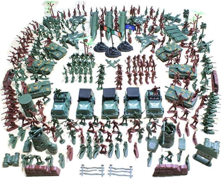 10 Stück Armee Modell Spielzeugsoldaten Armee Männer Zubehör Zelt gelb