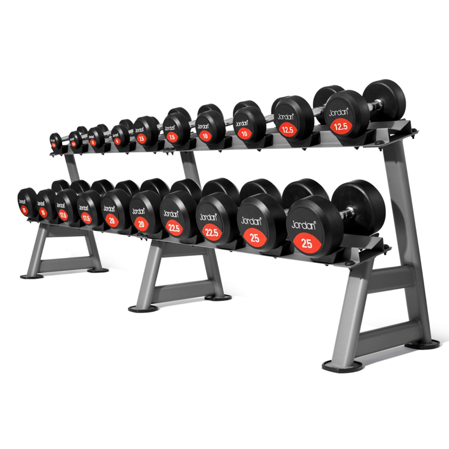 Dumbell Set With Rack Cosmecol