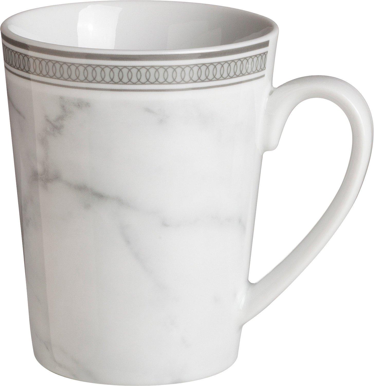 Gepolana 6-pk coffee mugs porcelain grey