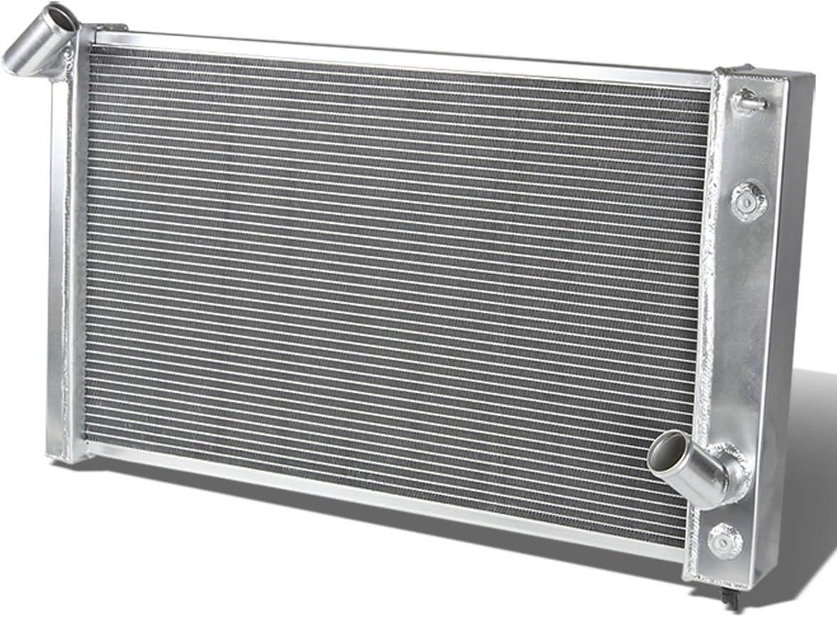 """3-ROW ALUMINUM RADIATOR+2X 10/""""FAN RED FOR 82-02 CHEVY S10//BLAZER//CORVETTE V8"""