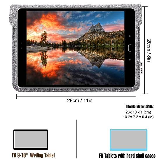 52ca0186bd251 Amazon.com  MoKo 9-10.5 Inch Tablet Sleeve Case